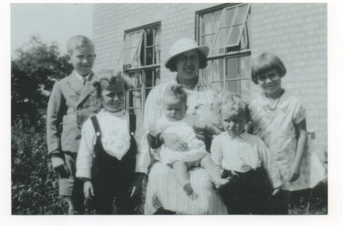 Two generations of my family who lived in Stowupland